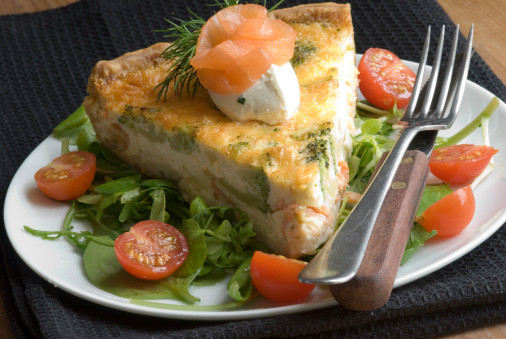 Quiche Hortelana con Queso Emmental