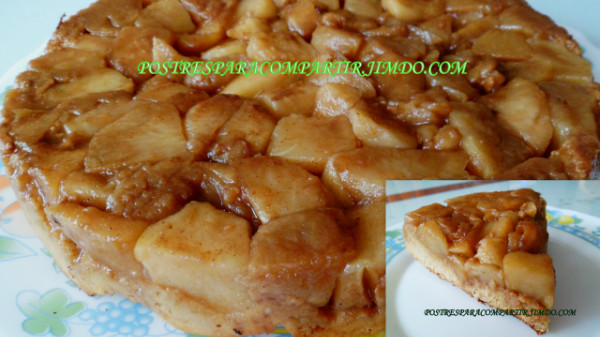 Tarta Tatin light