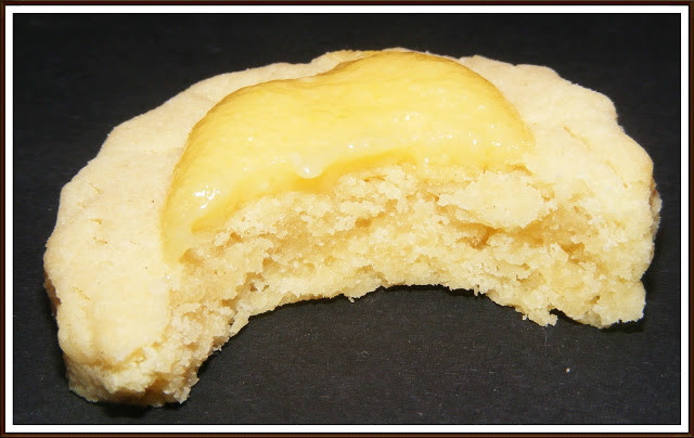 GALLETAS DE LIMON CON LEMON CURD