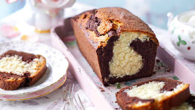 Plum cake de chocolate y coco