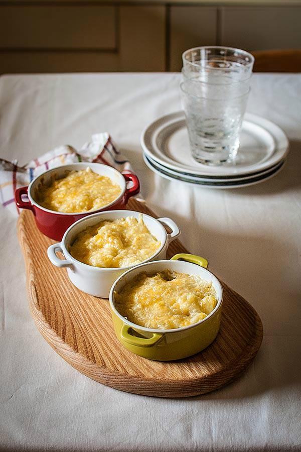 Gratinado de patata y lac n recet zate - Gratinado de patata ...