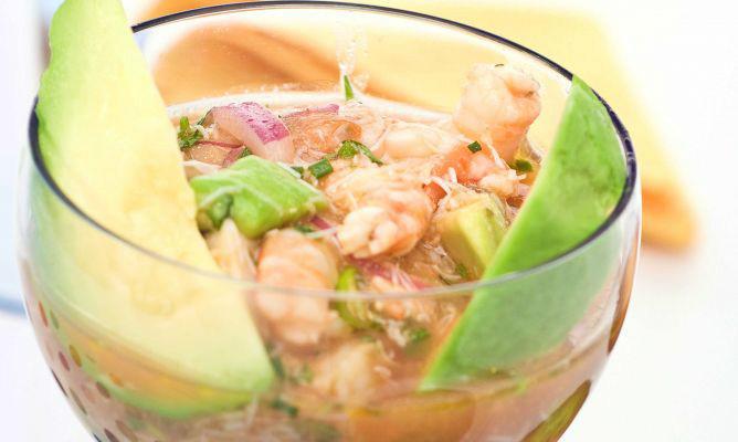 C ctel de marisco elegante recet zate - Coctel de marisco ingredientes ...