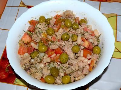 Ensalada de alubias recet zate - Calorias alubias cocidas ...