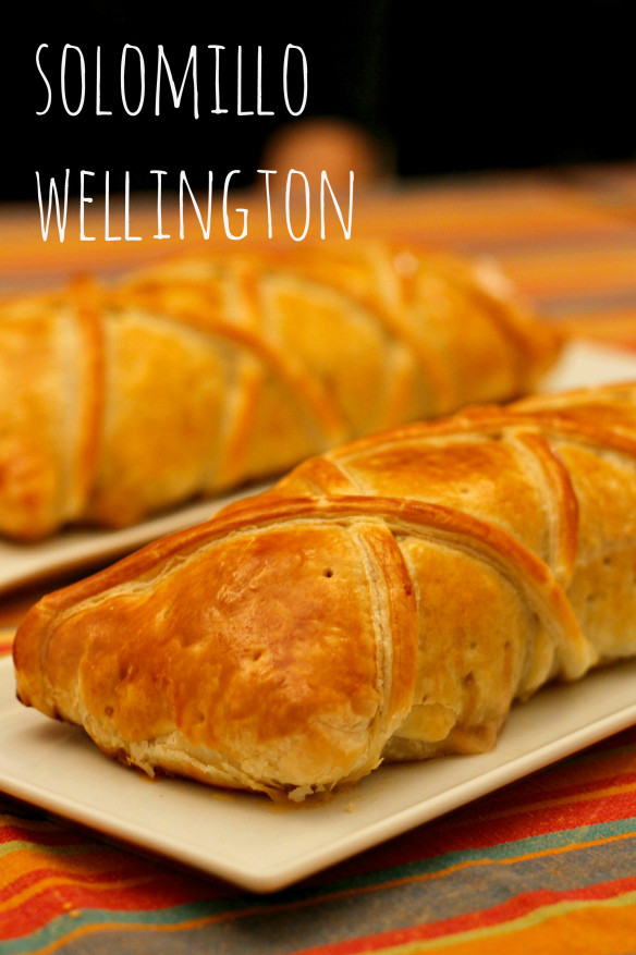 Solomillo de cerdo wellington