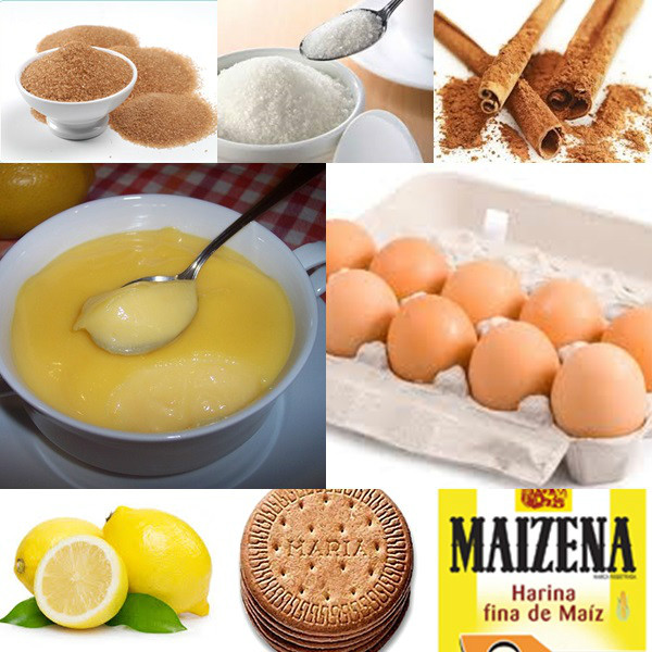 CREMA DE LIMON CON GALLETAS