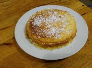 receta TARTA DE QUESO DE TRES INGREDIENTES