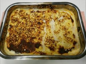 receta HUEVOS DUROS CON BESAMEL