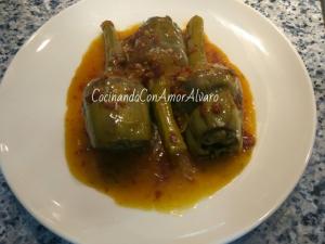 receta Alcachofas Estofadas con Jamón
