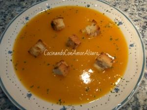 receta Crema de Calabaza