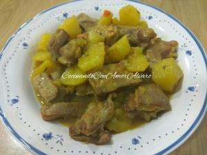 receta Falda de Ternera con Patatas