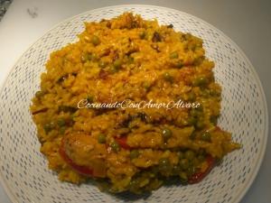 receta Paella de Pollo