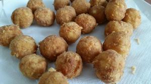 receta BOLITAS DE PATATA Y QUESO