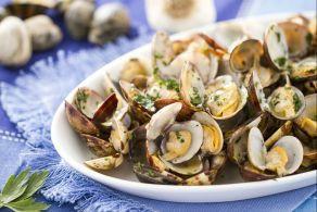receta Almejas a la marinera
