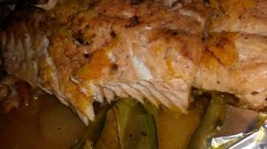 receta PAPILLOTE DE SALMÓN A LOS CÍTRICOS
