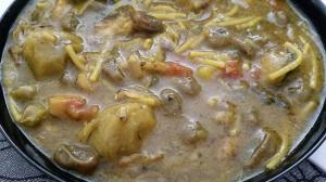 receta CAZUELA DE FIDEOS.