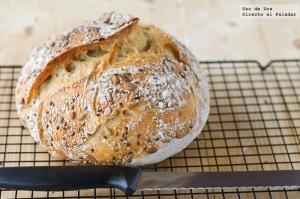 receta Pan Casero sin amasado